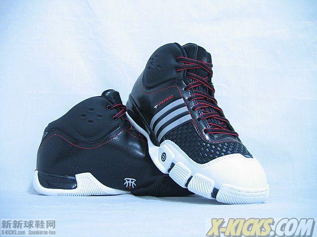 ADIDAS TS T MAC 7 黑白 T MAC 麦迪系列 篮球鞋 正品球鞋在线销售