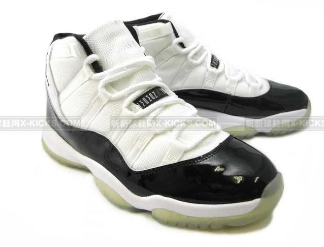 AIR JORDAN XI RETRO 白黑_Air Jordan 11_J