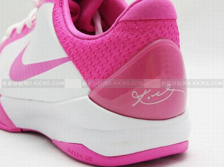zoom kobe v 白粉色_nike女款篮球鞋_女鞋_新
