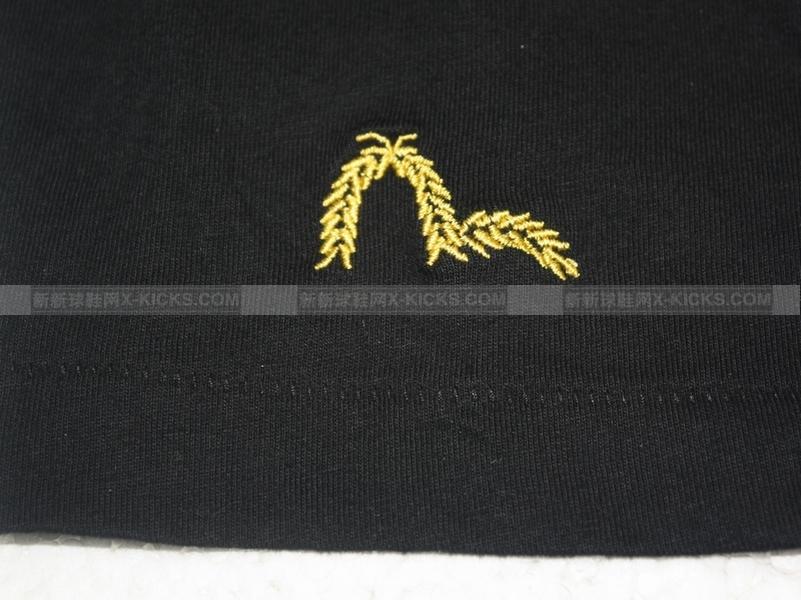 evisu 2010 tee 日版logo 黑