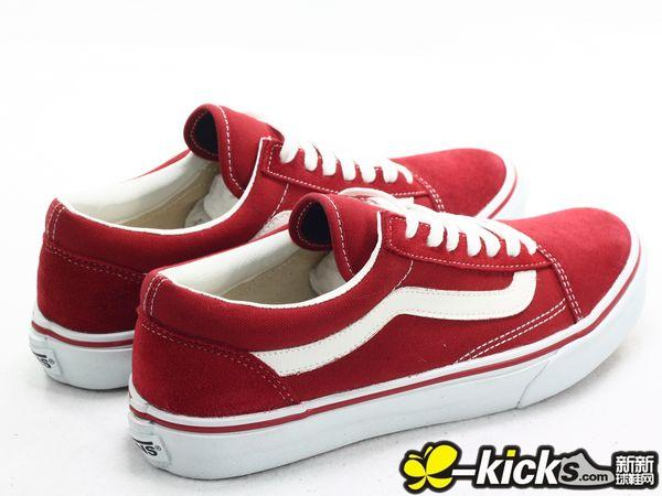 VANS OLD SKOOL 红白
