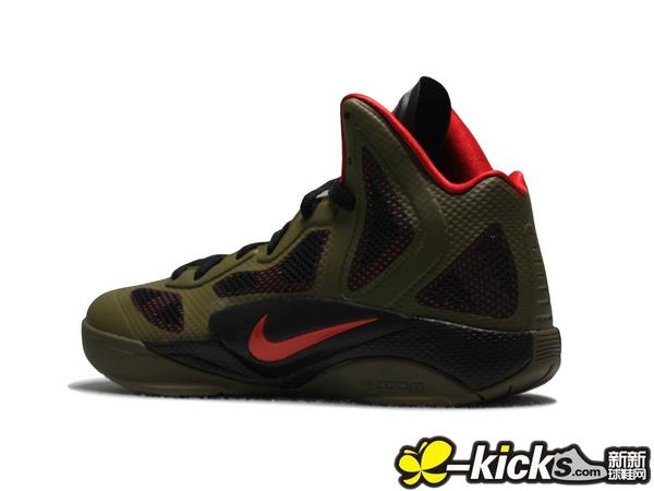nike zoom hyperfuse 2011 军绿 高清图片