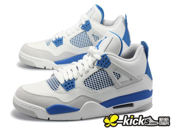 AIR JORDAN IV 4 Retro 白兰 限时