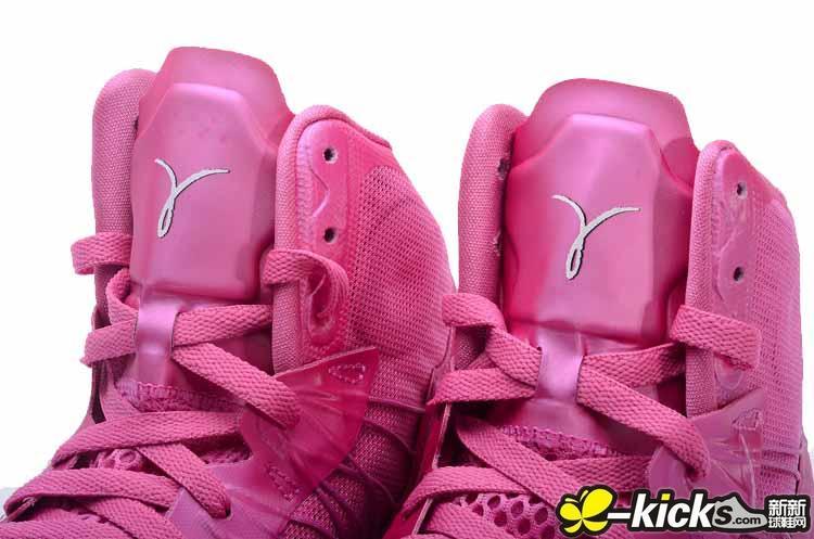 hyperdunk 2012 粉色
