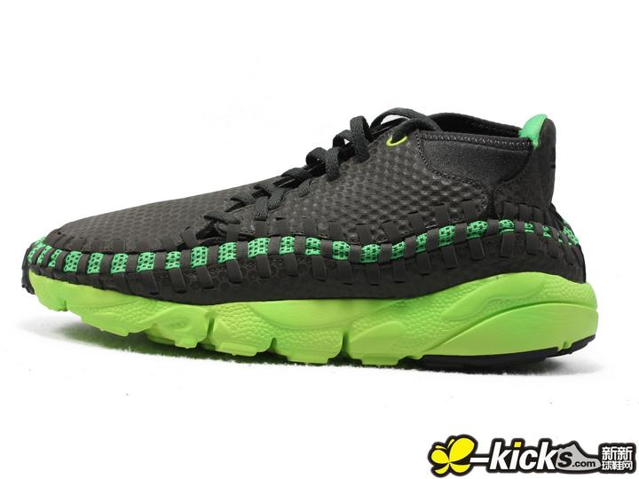 Nike Air Footscape Woven 黑绿限量发售