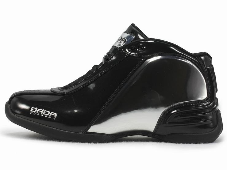 dada鞋_dada cdubbz 韦伯战靴 黑反光银
