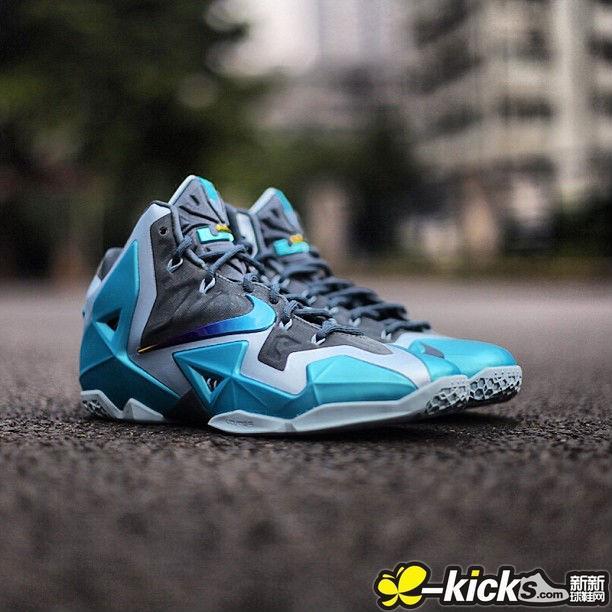 Nike Lebron 11 XI Gamma Blue 迦玛兰_詹姆斯1-12代_LEBRON 詹姆斯_热门球星鞋 ...