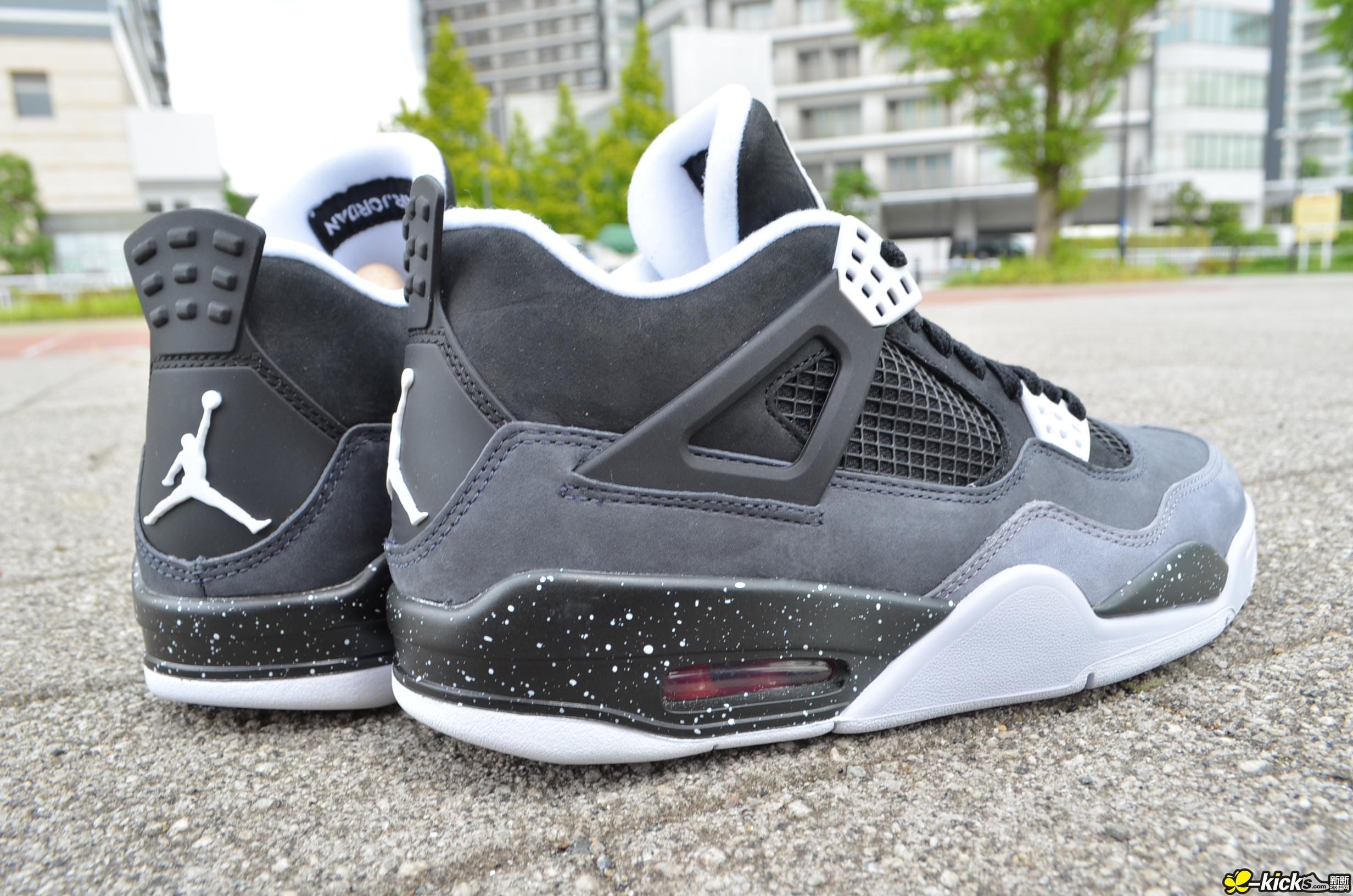 Air Jordan 4 Retro Fear 奥利奥_Air Jordan 4_J