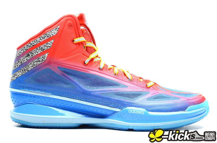 阿迪達斯 ADIZERO CRAZY LIGHT 3 籃球鞋_A