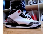 Air Jordan 3 Retro Infrared23 BG 女款 白黑灰爆裂  瑕疵特价