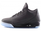 Air Jordan 5Lab3 black AJ3 乔3 AJ3 全黑反光 特价