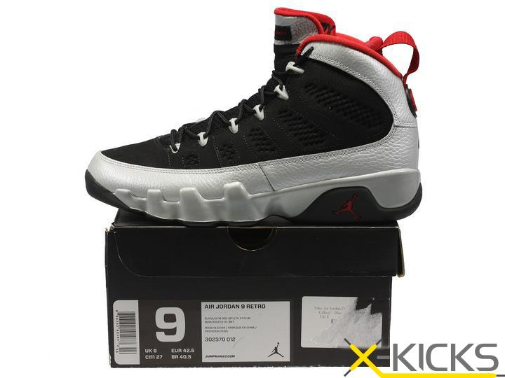 AIR JORDAN 9 IX retro Johnny Kilroy球星別注版 限量发