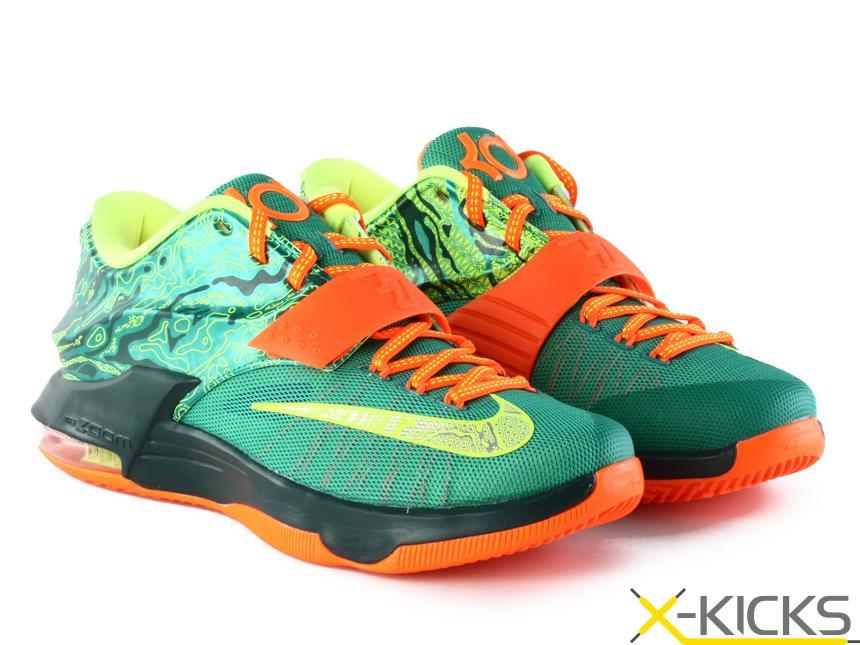 现货已到 Nike KD7 Weatherman 杜兰特7篮球