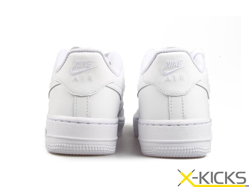 Nike Air Force 1 GS 全白 女 特价