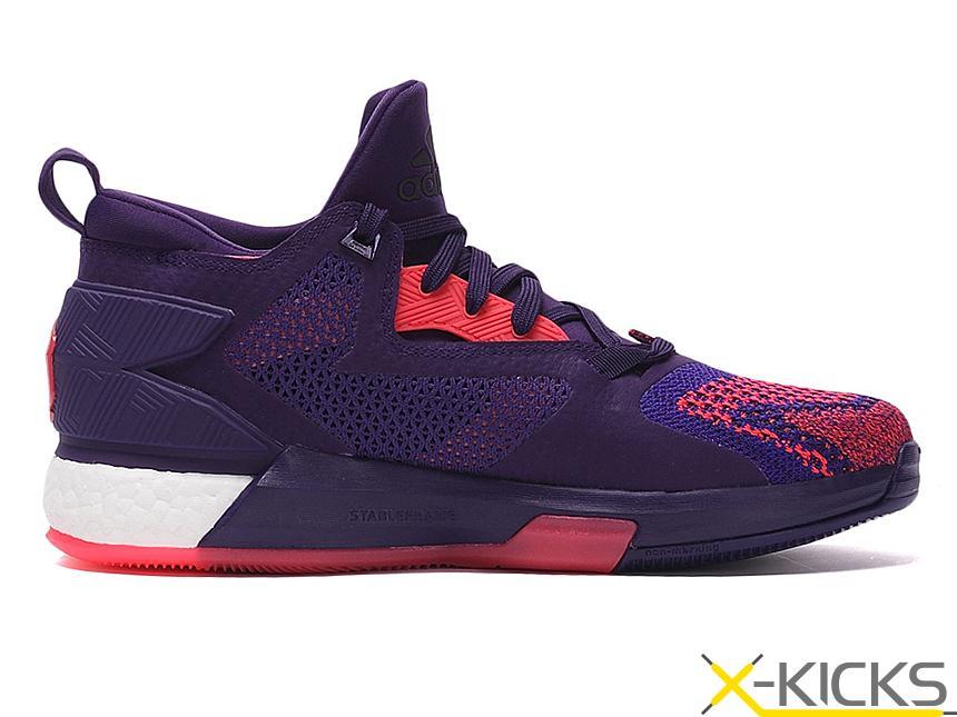 Adidas D Lillard 2 boost 利拉德全明星篮球鞋_