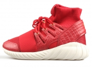Adidas Originals Tubular Doom Cny 猴年 限量 椰子红 情侣款 慢跑鞋