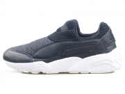 Puma Trinomic Sock x Stamp'd 黑白 男子休闲跑步鞋 夏季特价