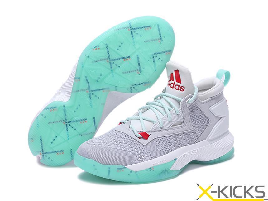 Adidas D Lillard 2 利拉德2代男子篮球鞋_ADI其