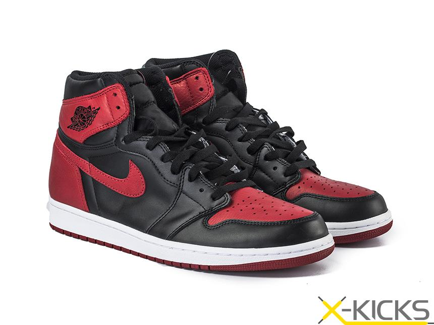 Air Jordan 1 Retro Banned 禁穿黑红