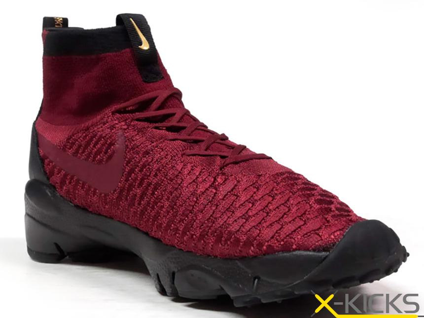 NIKE AIR FOOTSCAPE MAGISTA 黑红小吕布