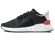 Adidas EQT boost Support 93/17 黑粉条纹