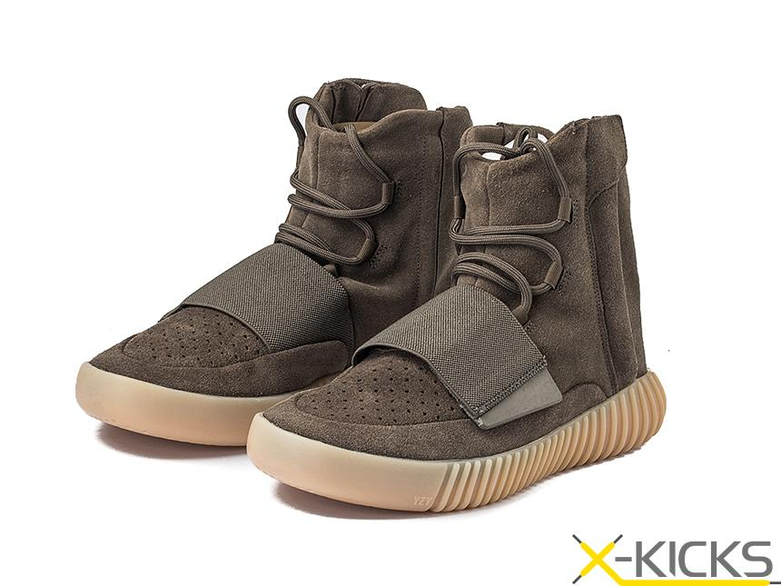 Adidas Yeezy 750 Boost Light Brown 椰子 巧克力 特价