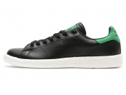 Adidas Stan Smith Boost 黑绿尾板鞋