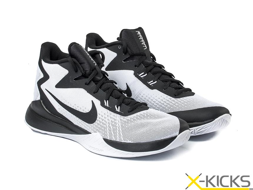 nike zoom evidence basketball shoe 白黑灰 夏季特价