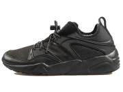 Puma x Stampd Blaze of Glory 全黑 黑武士