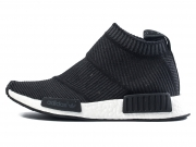 Adidas NMD City Sock Core Black 新款酷黑条纹