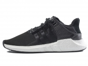 "Adidas EQT 93/17 Boost ""Core Black"" 黑白 特价"