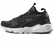 现货已到 Nike Air Huarache Run Ultra BR 黑白 特价