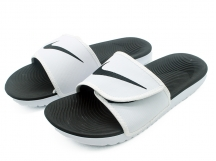 Nike Kawa Adjustable Slide Sandal 白黑 拖鞋