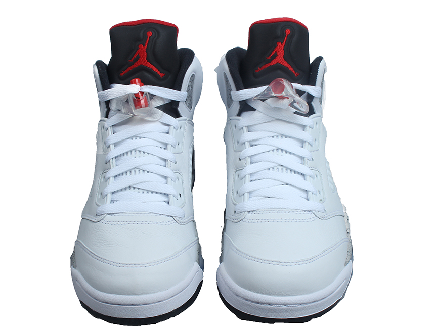 "AIR JORDAN 5 ""White Cement"" 白水泥"