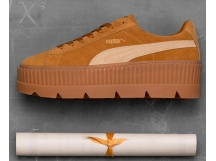 Puma Cleated CreeperSuede Wn's 松糕鞋 棕黄