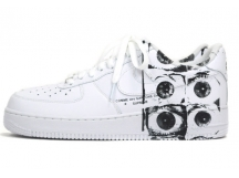 预定 NIKE AIR FORCE 1 x SUPREME x CDG AF1六眼三方联名