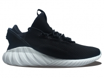 现货已到 Adidas Tubular Doom Sock PK 男鞋 黑白 特价