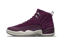 Air Jordan 12 Bordeaux AJ12 酒红麂皮 篮球鞋