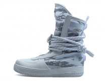 Nike SF Air Force 1 Hi Premium Boot 全白 高帮 特价