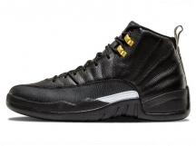 Air Jordan 12 The Master GS AJ12黑金女款 特价