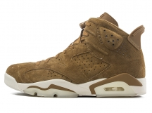 Air Jordan 6 Golden Harvest AJ6 乔6 小麦黄 鹿皮 特价