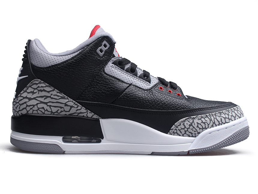 Air Jordan 3 Black Cement AJ3 黑水泥 特价