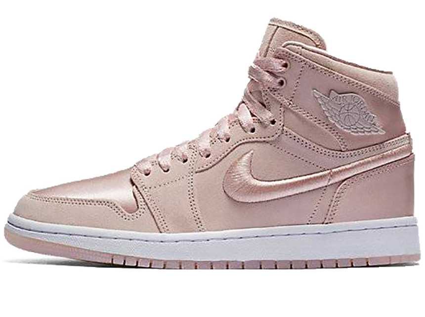 预售 Air Jordan 1 High AJ1 Summer Of Hign 淡雅 丝绸 淡粉
