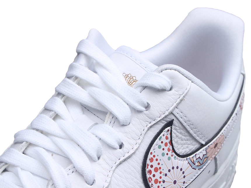 Nike Air Force 1 AF1 CNY新年烟花刺绣