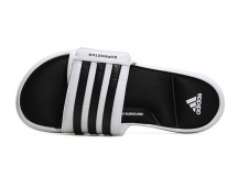 ADIDAS SUPERSTAR 5G 白色拖鞋