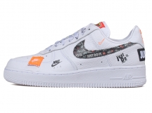 Nike Air Force 1 '07 AF1 Just Do It  全白 特价