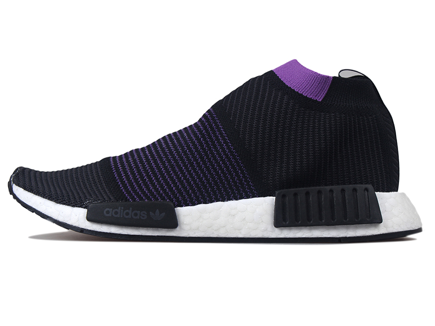Adidas NMD_CS1 Boost 黑紫 特价