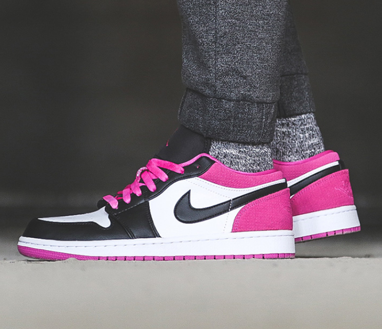 Air Jordan 1 Low Magenta AJ1 树莓 玫红 特价