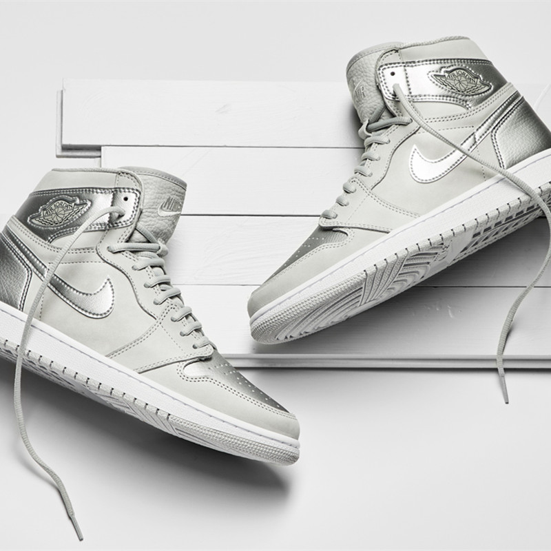Air Jordan 1 Retro High CO JP东京限定AJ1灰银 特价