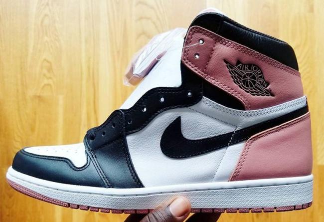 黑脚趾 兄弟配色 全新 Air Jordan 1 Rust Pink 本月登场